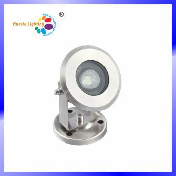 Luz subacuática del punto del acero inoxidable del IP68 1W / 3W LED