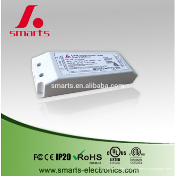 constant voltage 12V/24v 30w triac dimmable led driver for led strip