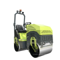 1200mm Steel Drum Vibratory Asphalt Roller For Sale