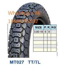 Moto neumáticos moto neumáticos 3.00 18hot venta patrón