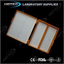 Boîte de rangement pour glissière à microscope
