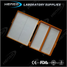 Microscope slide storage box