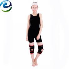 Soutien de genou de ressort de néoprène élastique facile d'opération de vente chaude