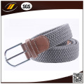 New Arrival Good Quality Alloy Pin Buckle Elastic Knitted Webbing Belt