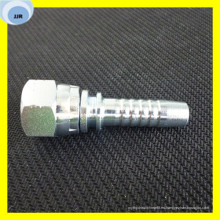 Straight Metric Swagelock Conectores de tubería hidráulica