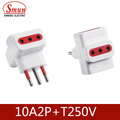Italia Adapter Trip Extension Steckdose und Stecker 10A / 16A 2p + T 250V