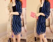 Cotton Long Style Classic Warm Fashion Women Scarf