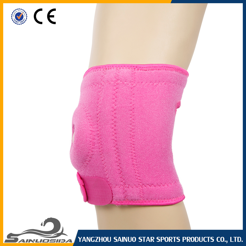 Pink Knee Brace