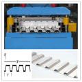 Rolo do assoalho da plataforma do sistema de controlo do PLC que forma a máquina