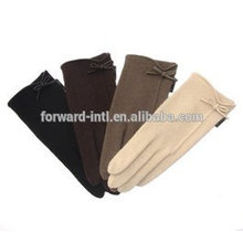New arrival beautiful design hot sale elegant ladies cashmere gloves