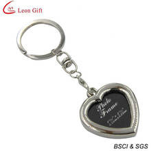Wholesale Heart Shape Photo Frame Keychain for Gift (LM1761)