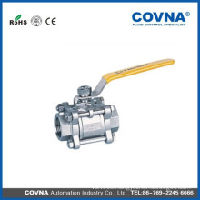 Stainless steel Manual double union Ball Valve