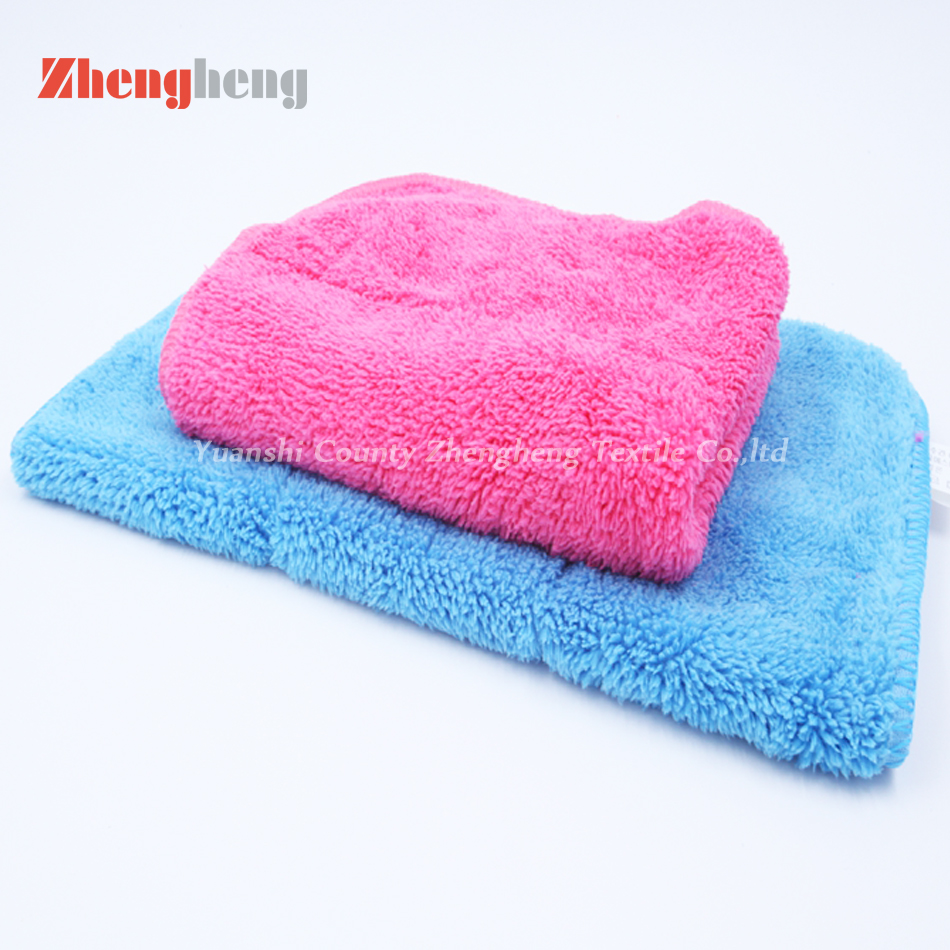 Polyester Coral Fleece Towel (8)