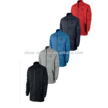 2014 custom mens track jaqueta, parte superior da trilha