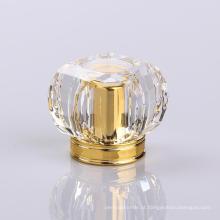 Tampas de garrafa decorativas acrílicas do perfume dos PP