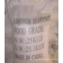 Bicarbonato de amônio de alta qualidade 1066-33-7 para fertilizante de nitrogênio e alimentos