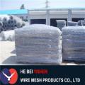 PVC gabion mesh galvanized stone cage