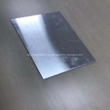 Placa de chapa de aluminio súper delgada de carburo