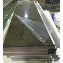 Los nuevos persianas de acrílico modernas del gabinete de cocina con la venda y las manijas de borde del PVC (modificadas para requisitos particulares)