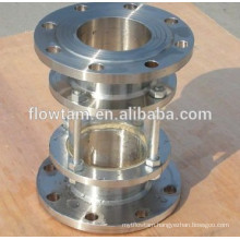 stainless steel in line sight glass