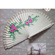 ventilateur à main en bois, cadre de ventilateur pliant, faveurs de mariage