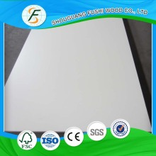 Furniture Grade 18mm White Melamine MDF for sale