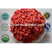 Extrato de Goji Berry Orgânica Certificado / Extrato de Fruta Wolfberry Barbury em Pó com Polissacarídeos Lycium Barbarum