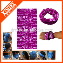 Multifunctional tube knitted seamless cheap sports fabric headband