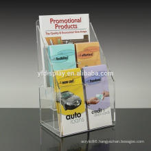 2 layer a5 clear acrylic brochure holder
