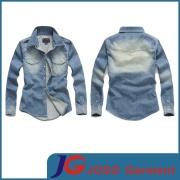 2014 Fashion Men's Denim Shirts Wholesale (JC7013)