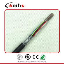 4 cable de fibra óptica monomodo de núcleo