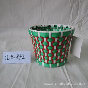 Round Plastic Flower Pot