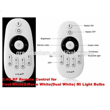 Touch sensitive RF Remote controller, Control up to 4 zones WW/CW Colours