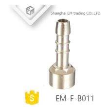 EM-F-B011 Adaptador de rosca hembra cabeza de pagota accesorio de tubería de latón