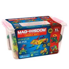 MAG WISDOM Brinquedos engraçados coloridos da construção