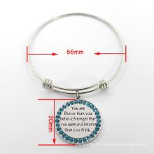 Bracelet élégant Bracelet expansible Bracelet extensible Bracelet argenté
