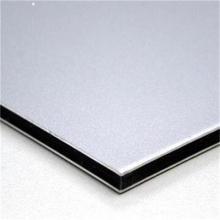 4x8 pies PVF / PE / FEVE revestimiento A2 incombustible Panel de plástico de aluminio y fábrica de hojas acp con lista de precios para revestimiento de paredes