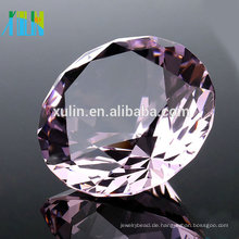 Geburtstagsgeschenk 40mm K9 Klar Kristall Diamant Schmuck Kristall Ornamente Handwerk