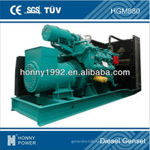 800kVA generador eléctrico por Popular Googol (marca famosa de China, cerrar el puerto de Shenzhen)