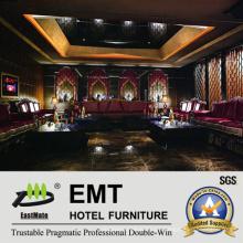 Sofá moderno del club de noche KTV Sofa fijado (EMT-KTV04)
