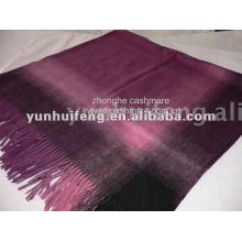 Cachemira. Lenço de lenço e xale