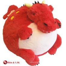Пользовательские рекламные прекрасные плюшевые игрушки красный дракон
