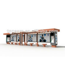 outdoor bus shelter