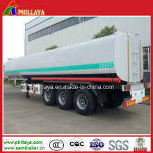 Tri-Axle Chemical Liquid Tanker Semi Truck Trailer (PLY98465MTA)