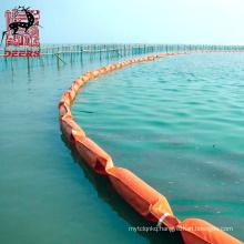 Deers pvc oil spill absorbent boom seaweed fence