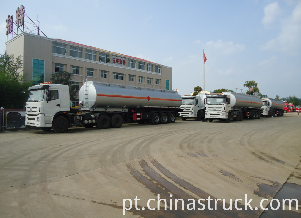 45m3 ethanol tank semi-trailer for sale