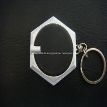 Porte-clés publicitaire Led lampe de poche de Hexagnal