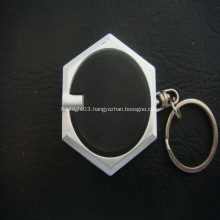 Promotional Led Hexagnal Flashlight Key Chain