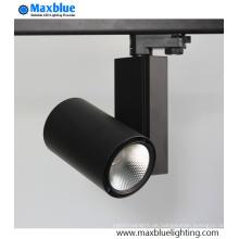 LED-Schienen-Licht 30W 90ra CREE COB für Kleidung-Schuhe Ketten-Geschäft-Beleuchtung