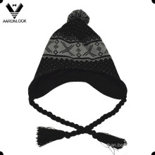 Fashion Acrylic Winter Knit Peruvian Hat
